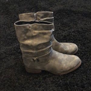 Gray Ankle Boots!